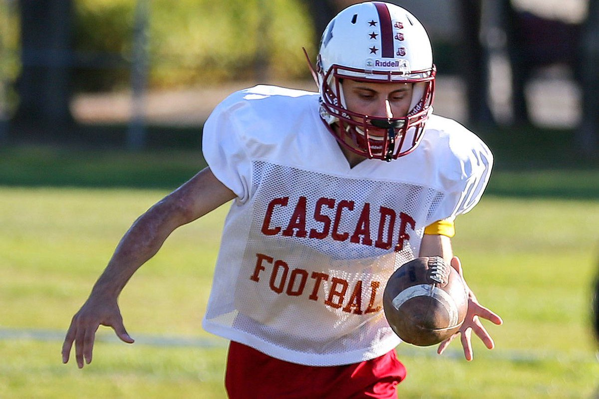 test Twitter Media - Cascade senior finds 'freedom' with help of football https://t.co/fsfH1YPcNa https://t.co/Yf0QpAVxgb