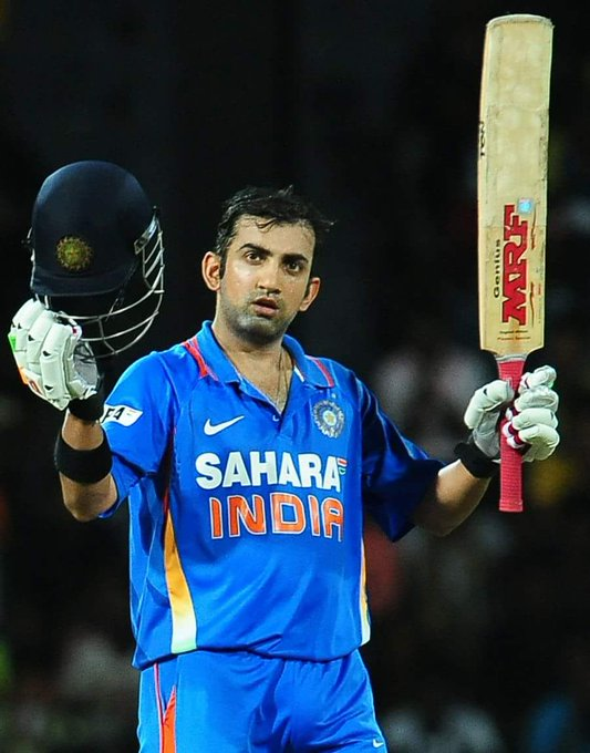 Happy birthday to you Gautam Gambhir