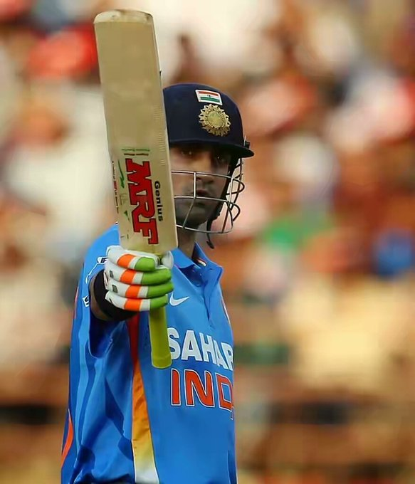 Happy birthday sir Gautam Gambhir,many many happy returns of the day.God bless you.