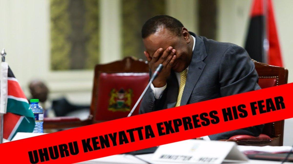 STATEHOUSE IN SHOCK AS Uhuru WILLING TO negotiate with Raila Odinga