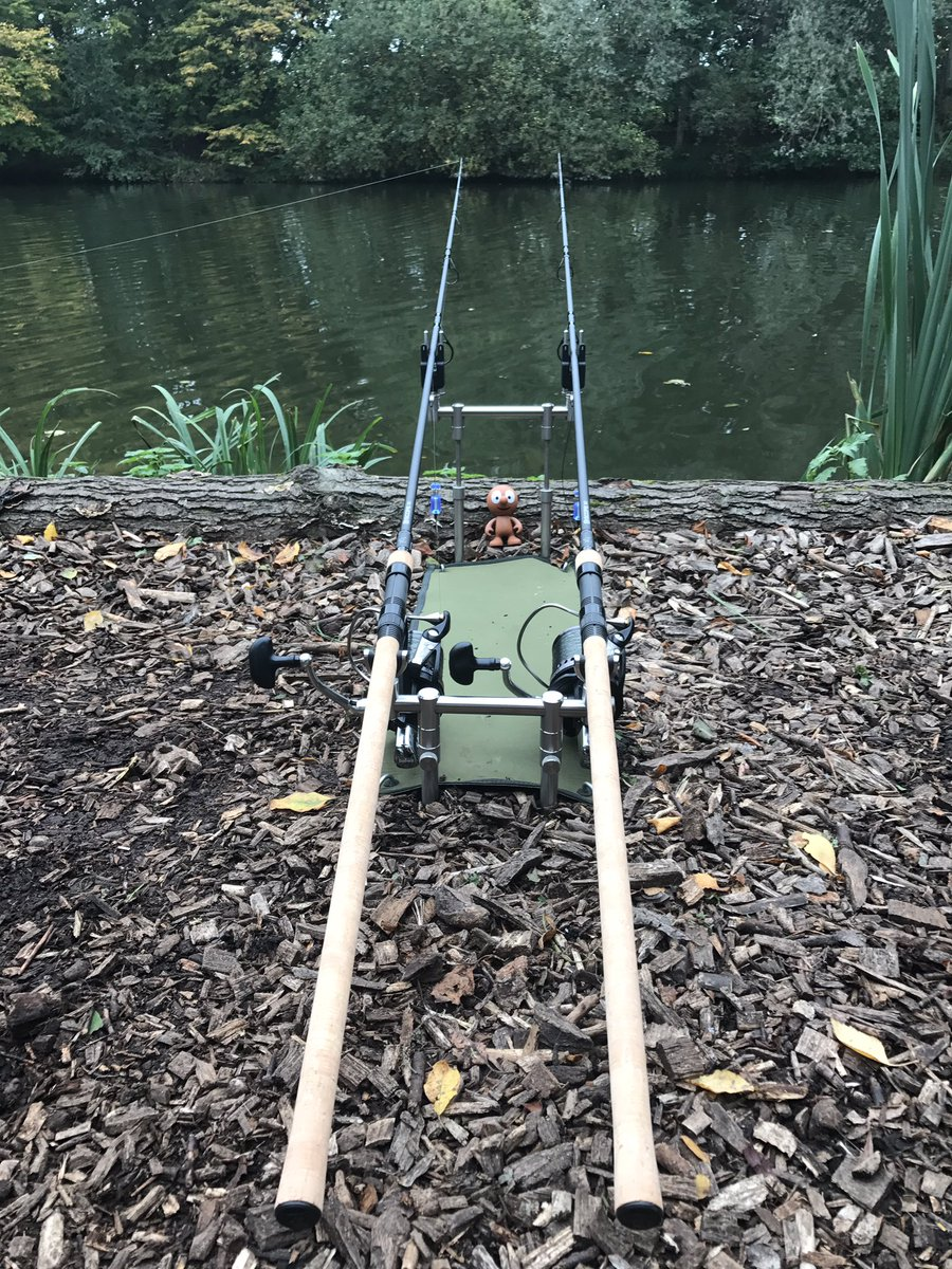 Very nice set up on Jenkins Lake @NashTackleUK #Scopes @GardnerTackle #ATTs @JAG_Fishing #Matrix #Ba