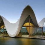 Une chapelle architecturale en Afrique du Sud