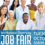 Workplace Diversity Job Fair: Tuesday, October 24, 2017