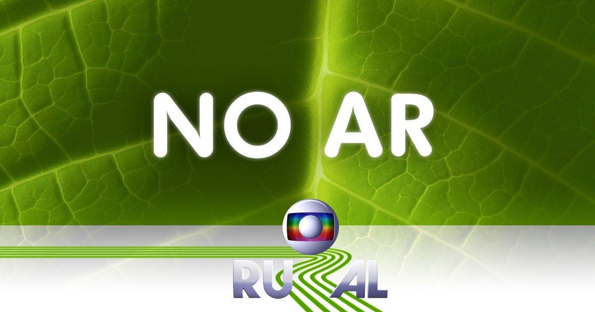 #GloboRural