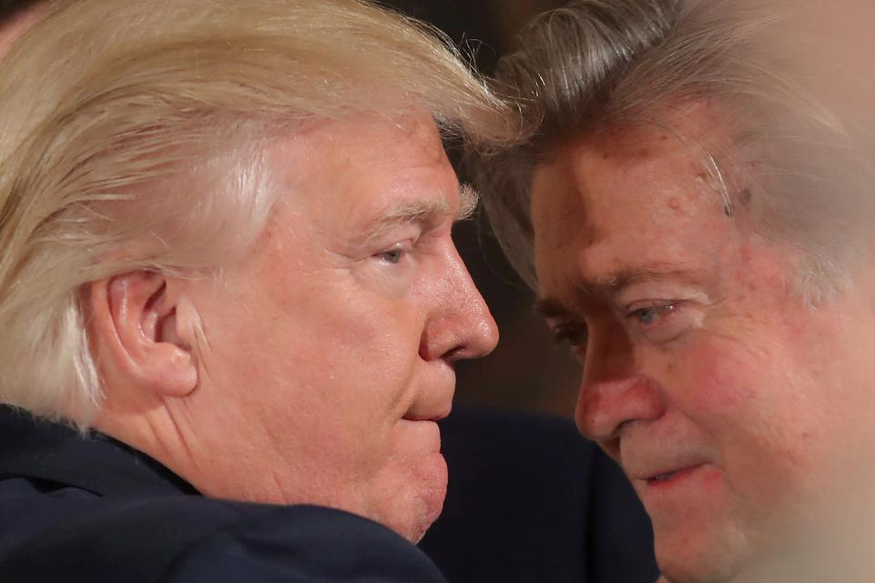 Steve Bannon says Trump will win in 2020 by landslide 400 electoral votes