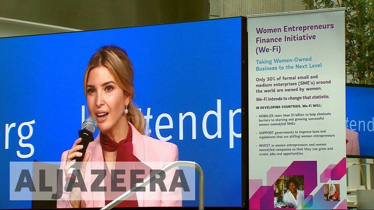 Ivanka Trump volunteers as business mentor at World Bank and IMF meeting