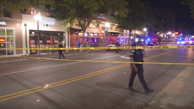 Man shot in drive by shooting in Tuscaloosa on the strip after the Alabama homecoming game