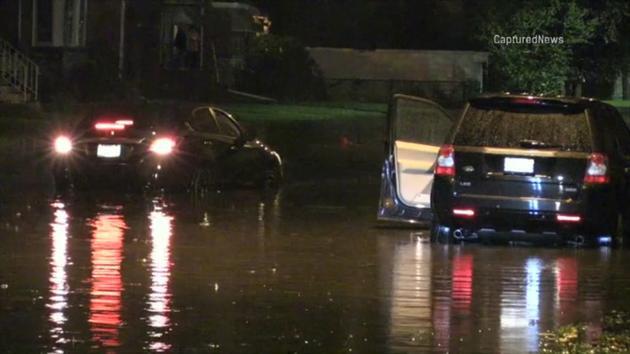 Chicago Weather: Record rain floods streets across area