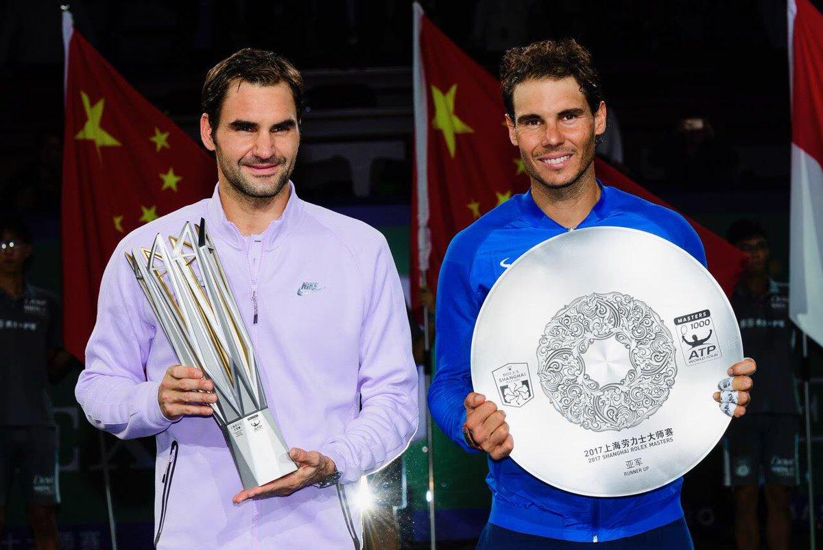 RT @SH_RolexMasters: Federer wins 64 63 #FedererNadal @rogerfederer @RafaelNadal #shrolexmasters https://t.co/zoWbPGNgb0