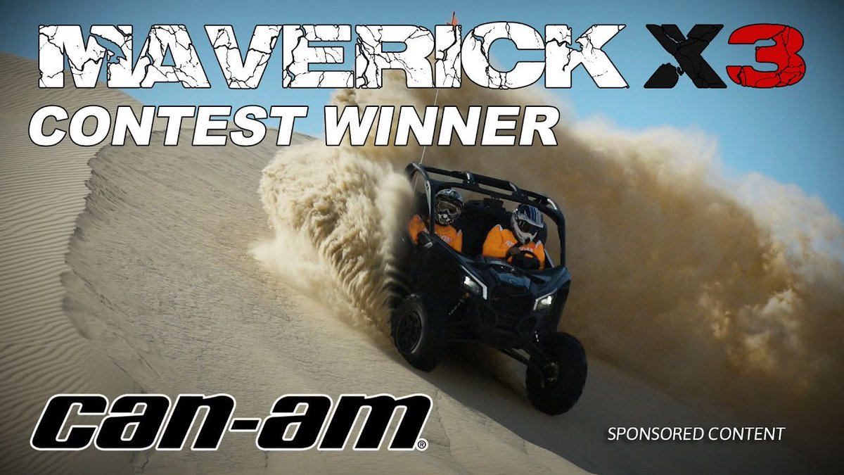 2017 Can-Am Maverick X3 – Glamis Adventure Contest Winner (Sponsored By Can-Am) - Dauer: 4 Minuten, 51 Sekunden