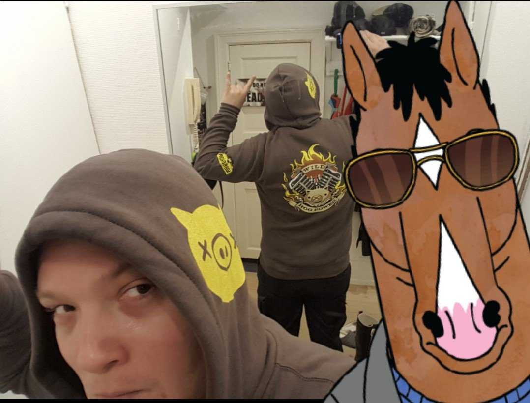 test Twitter Media - My @JINX Roadhoodie, with a bonus @BoJackHorseman photobomb! 😉 https://t.co/75gLmuKWgZ