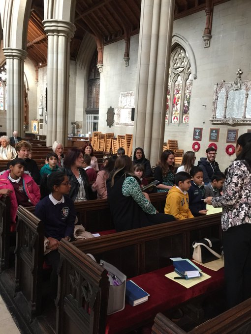 RT @Mrs_Pilling: Harvest at Bolton Parish Church this morning. Well done everyone! https://t.co/F73Fys397q