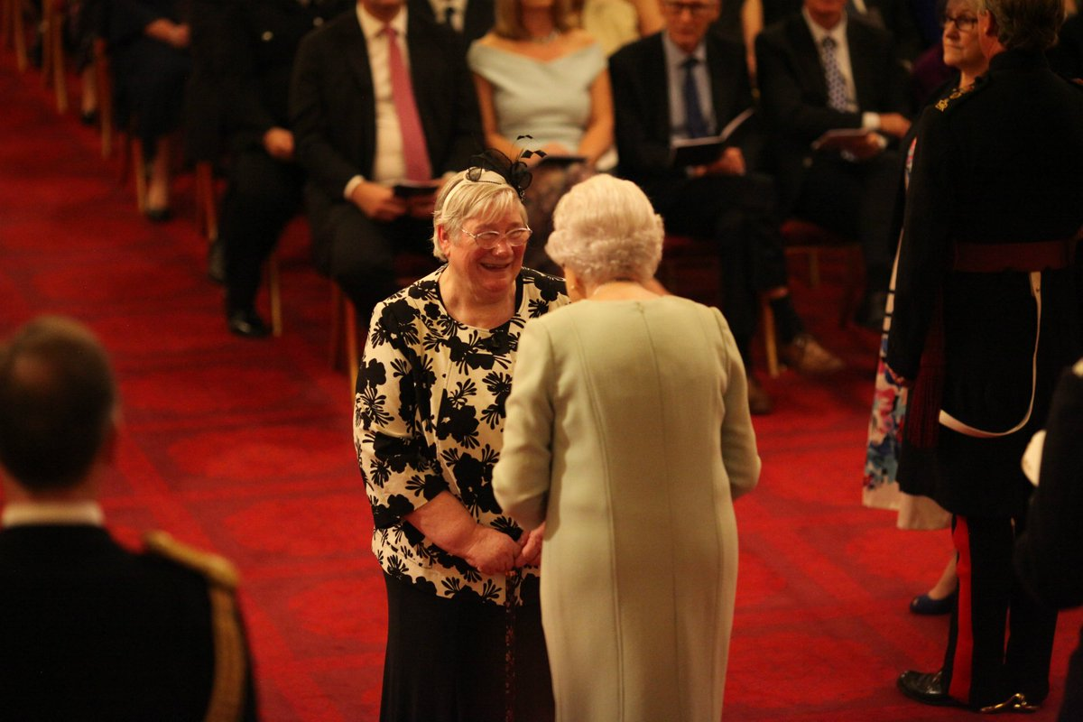 Services to fostering recognised by the Queen