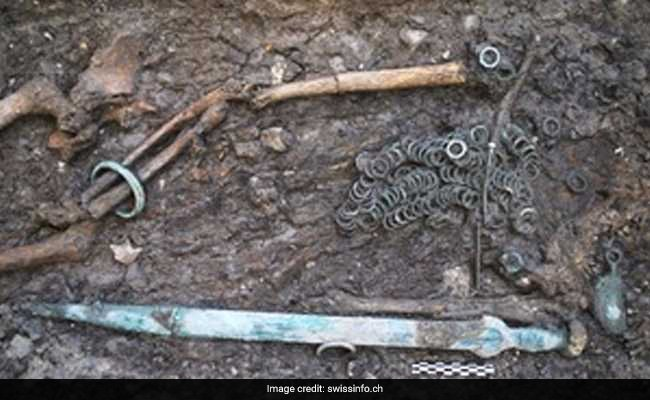 4,000-Year-Old Weapons, Lunch Box discovered In Switzerland