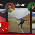 Three Iranian women share their hitchhiking adventures - BBC Trending