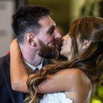 Esposa de Lionel Messi anuncia em rede social que está grávida