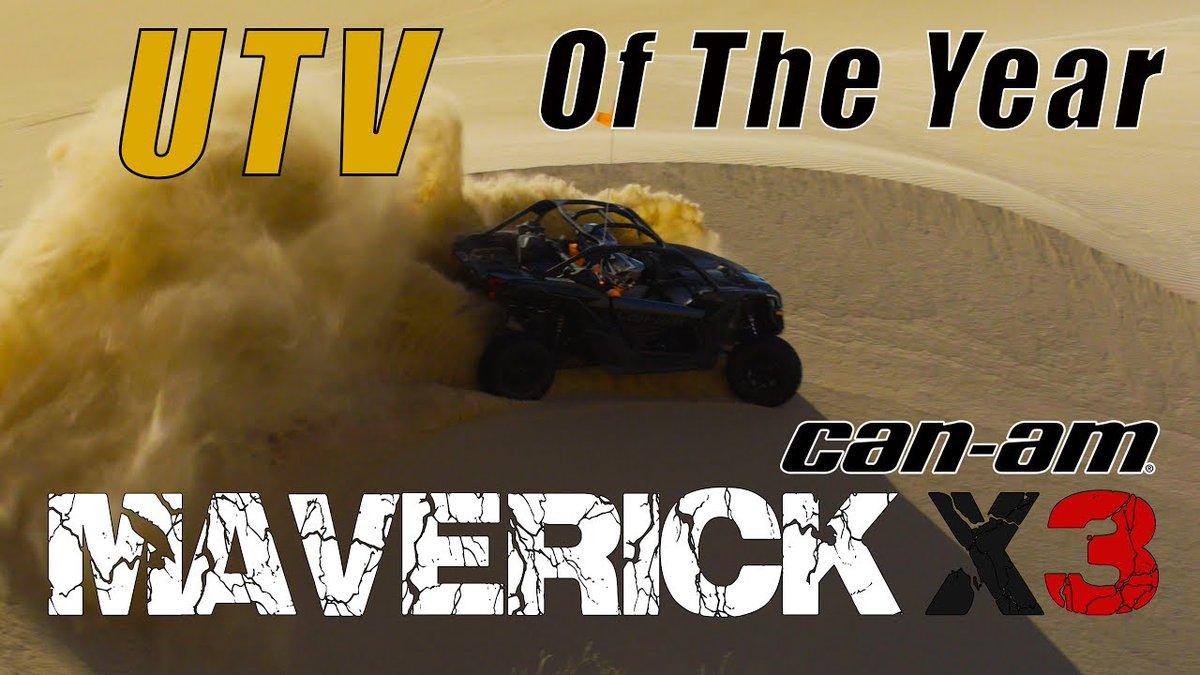 5 Reasons Why the Can-Am Maverick X3 is ATV.com's Sport UTV of the Year - Dauer: 2 Minuten, 39 Sekunden