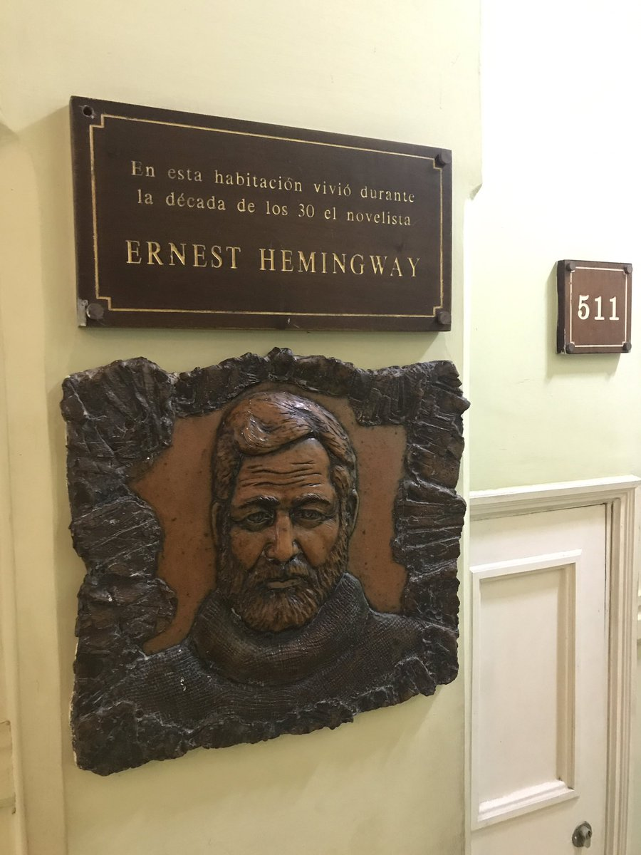 test Twitter Media - If you are a fan of Oak Park born author Ernest Hemingway, you would love Cuba.  He is a Cuban icon who stayed on the island often to write. https://t.co/Q4NpSBP25H