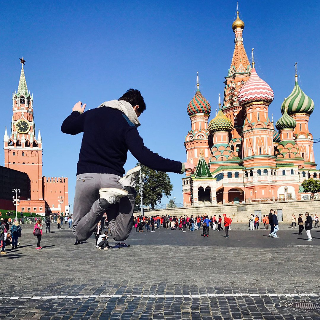 With love from Russia: Smitzyclothes at the #redsquare.  #smitzy #smitzystyle #russia  ...