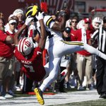 Michigan-Indiana was the highest-rated football game of the weekend