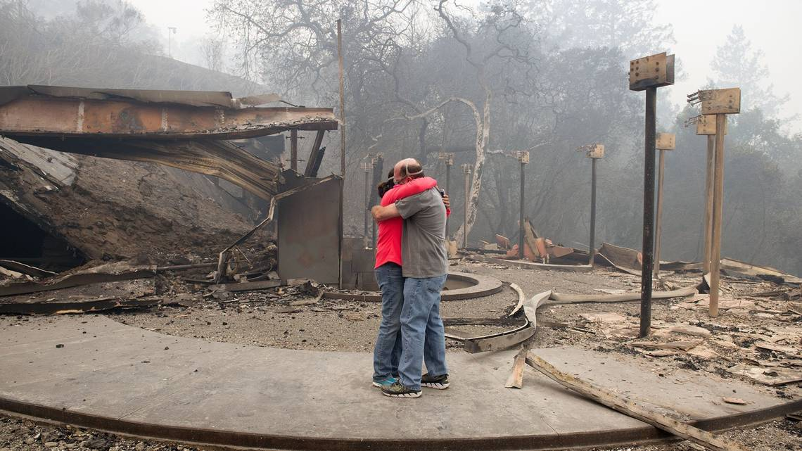 Drama of Northern California fires caught on camera | Idaho Statesman