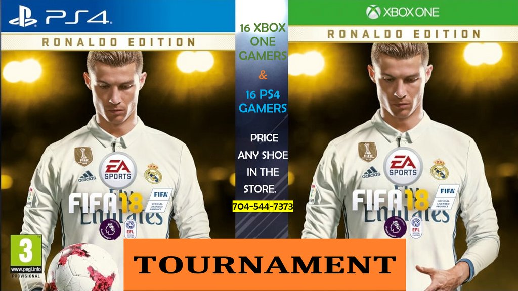 FIFA 18 TOURNAMENT IN OUR PINEVILLE LOCATION! CALL US @ 704-544-7373 #FIFA18 #BESTBUYSOCCER https://t.co/GtiWkOfELL