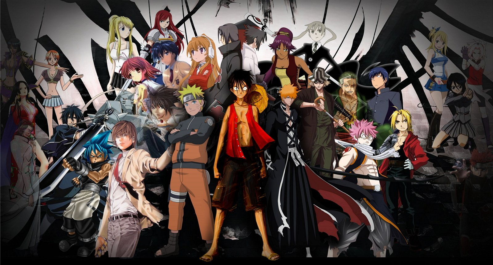 Anime android characters