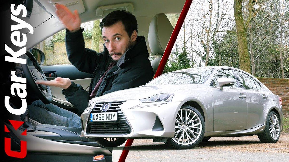 2017 Lexus IS300h Review – Better Than The Germans? – Car Keys - Dauer: 5 Minuten, 31 Sekunden