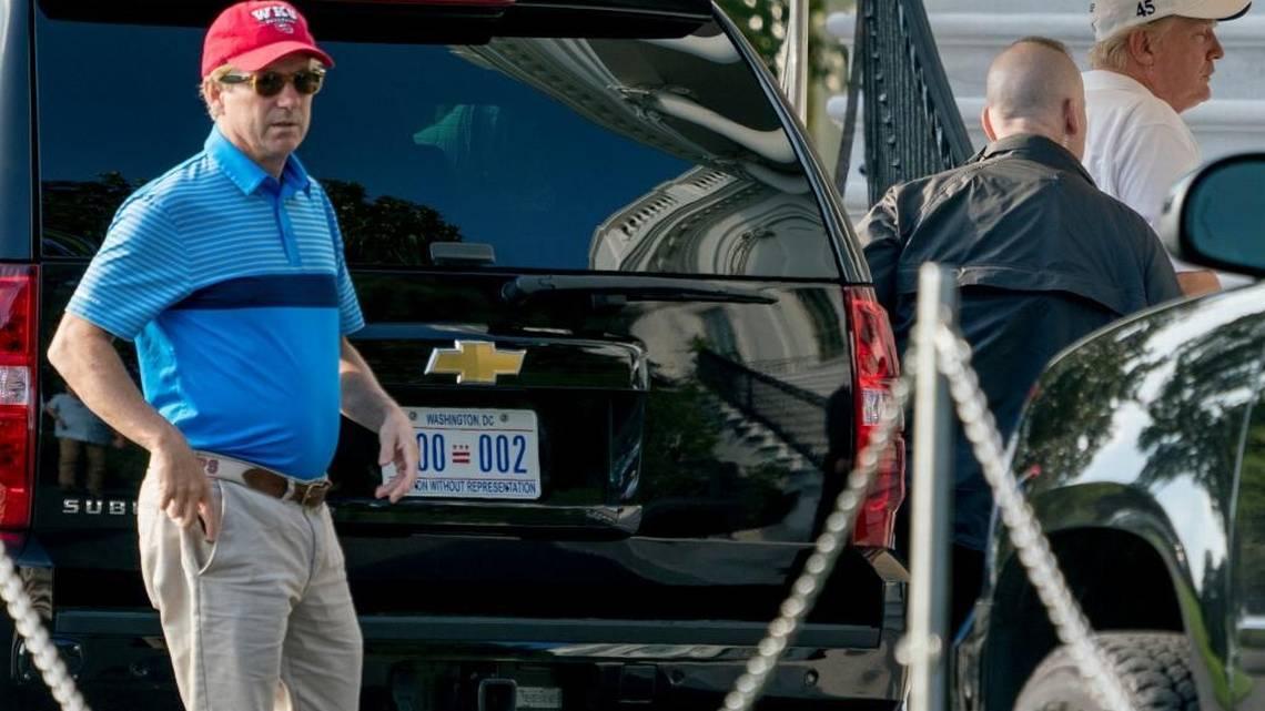 Rand Paul, Donald Trump play golf | Lexington Herald Leader