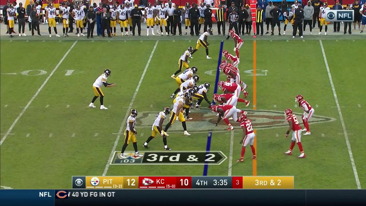 RT @steelers: Yeah... @AB84 caught that. 😳😳😳😳  PIT 19   KC 10 https://t.co/ZXcMejFEGh