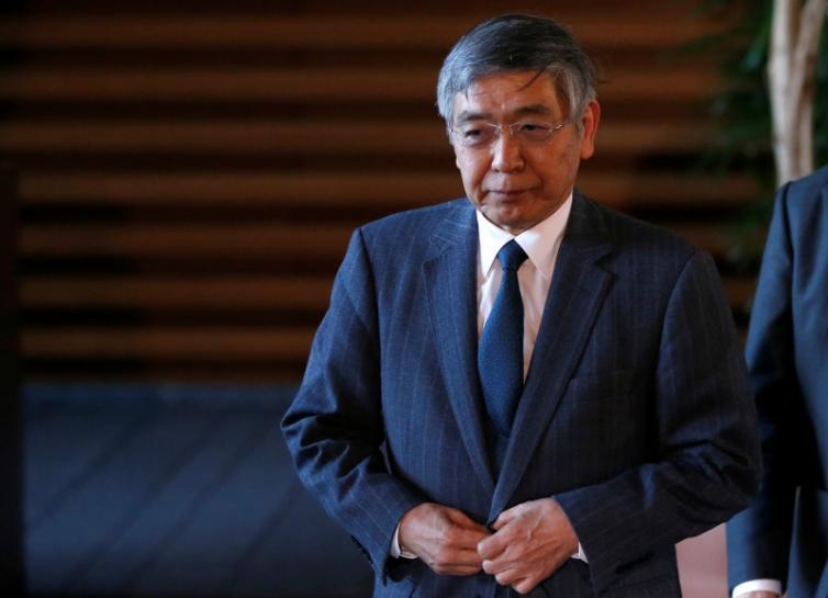 BOJ's Kuroda warns markets may be complacent of geopolitical risks