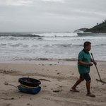 Typhoon Khanun makes landfall in south China, bringing gales and rain
