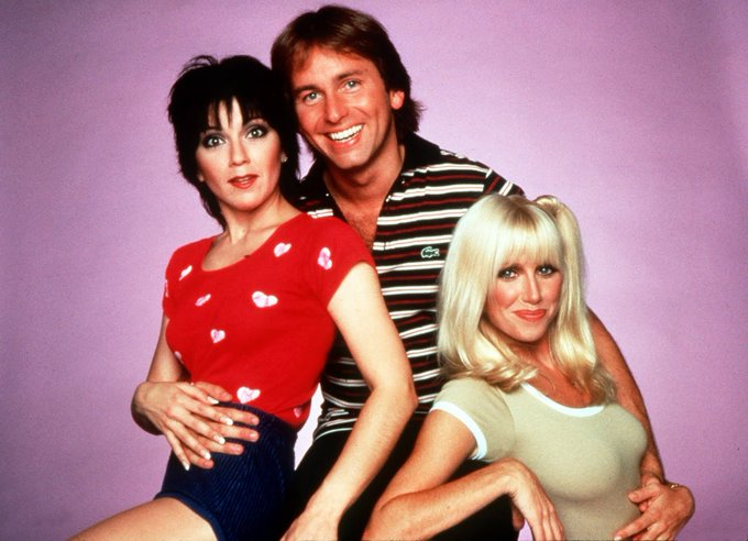 Happy Birthday to Suzanne Somers(far right) who turns 71 today!