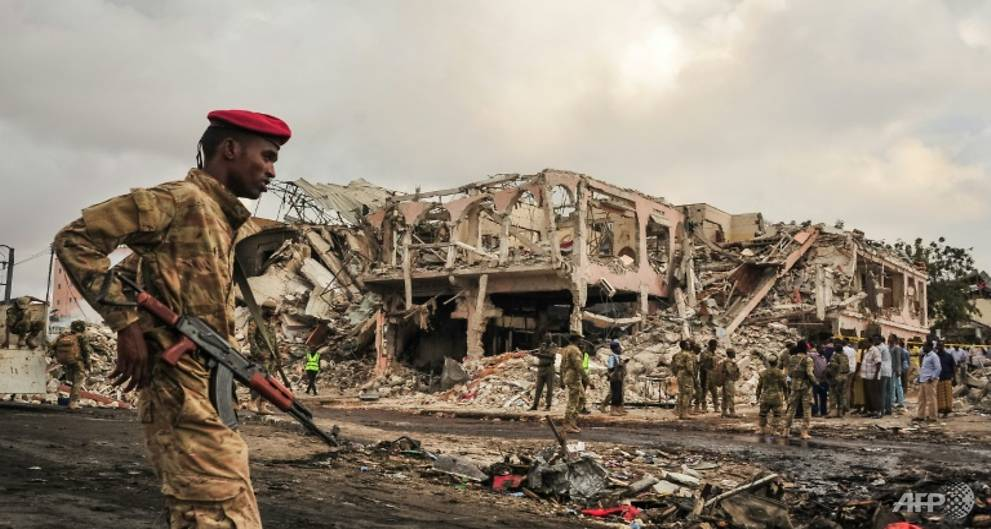 World leaders condemn Somalia bombing 'in strongest terms'