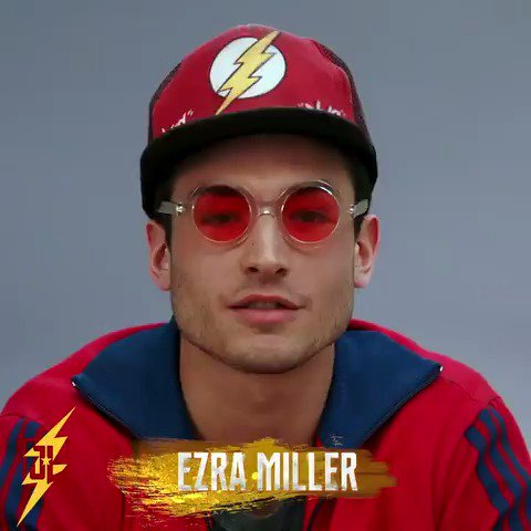 Special Announcement from Ezra Miller It's #TheFlash Week! ⚡️ #JusticeLeague