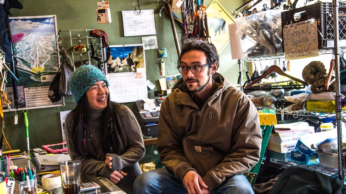 Monday's Montanan: The break dancing couple that owns your favorite outdoors store