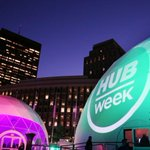 Robots take over Boston's City Hall Plaza as part of HUBweek