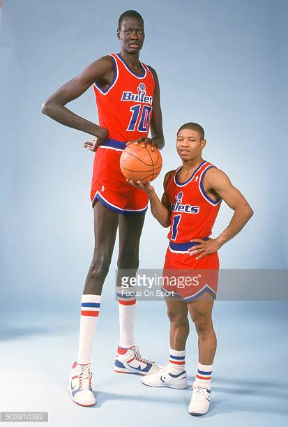 Happy Birthday to Manute Bol(left), who would have turned 55 today!