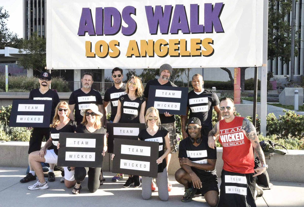 Great to see everyone come out for #AIDSWalkLA tyduZC75HM