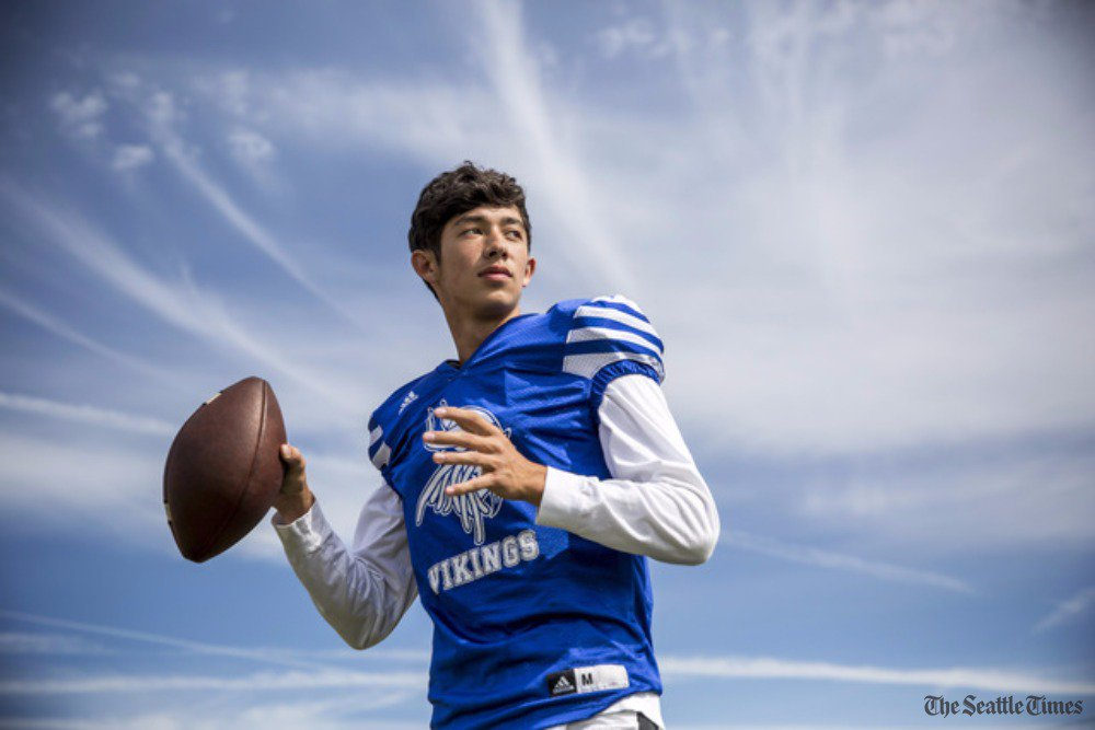 test Twitter Media - Rainier Beach QB Max Nall has overcome the loss of his father to have the kind of season his dad would have loved.  https://t.co/gvh2LvHzlE https://t.co/96DRpnErWj