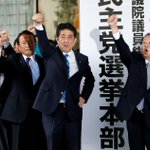 Japan's PM Abe on course for landslide win in snap election: Poll