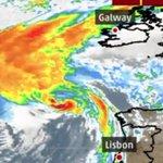 Ophelia races toward Ireland as post-tropical storm