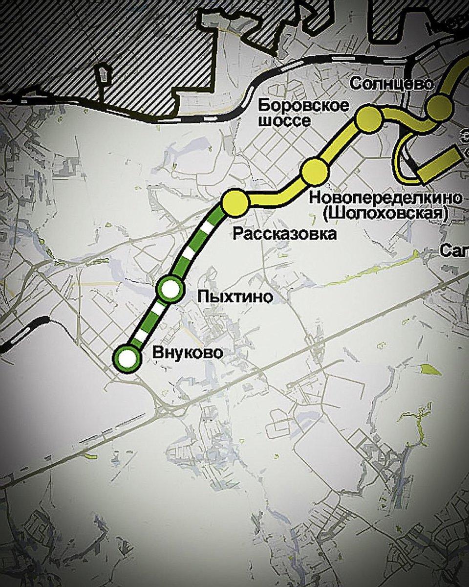Боровское шоссе 30 схема