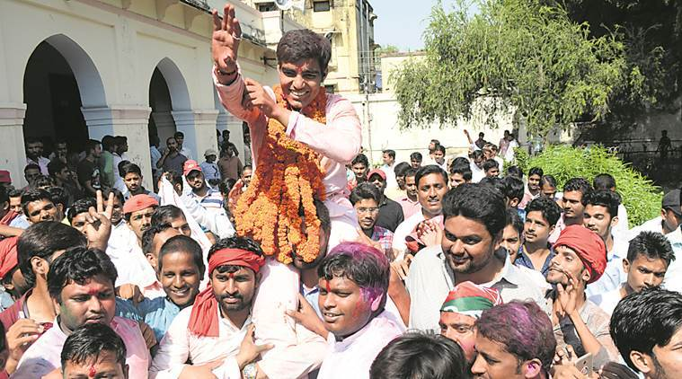 SP students' wing sweeps Allahabad University polls