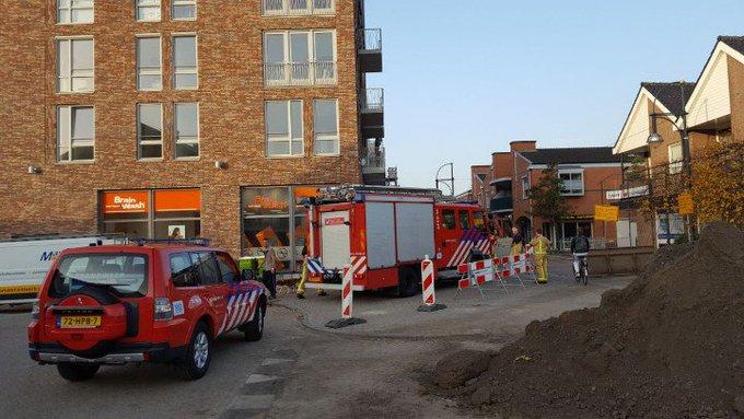Gaslekje in centrum s'Gravenzande. Kleine inzet brandweer. Alles weer veilig gesteld. https://t.co/o9LS4ZrjXX
