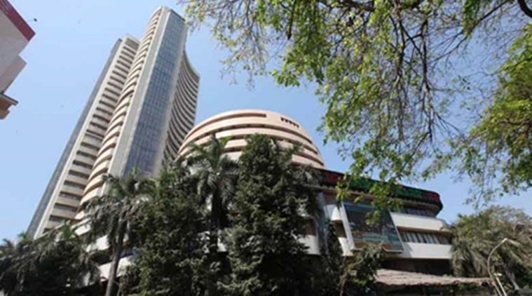 India's BSE index hits record high, rupee rallies as trade deficitnarrows