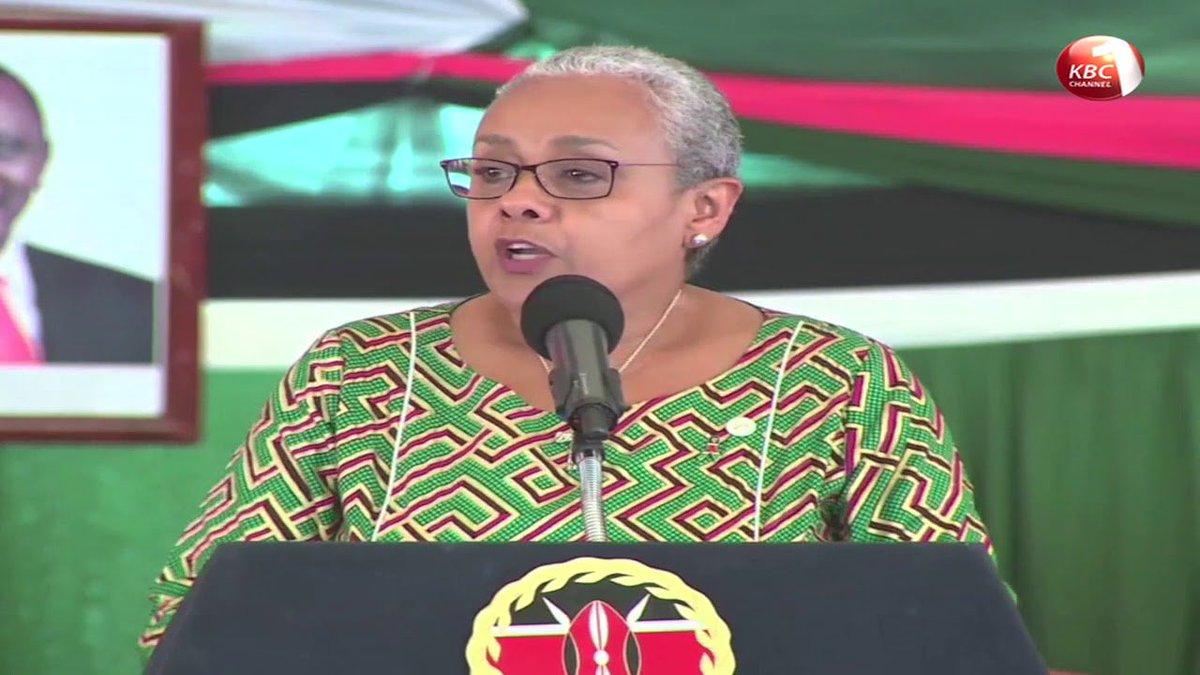 First Lady Margaret Kenyatta takes Uhuru Kenyatta's re-election bid to Kisii and Nyamira