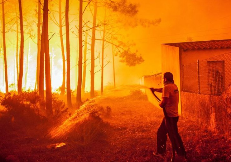20 dead as wildfires ravage northern Portugal, Spain