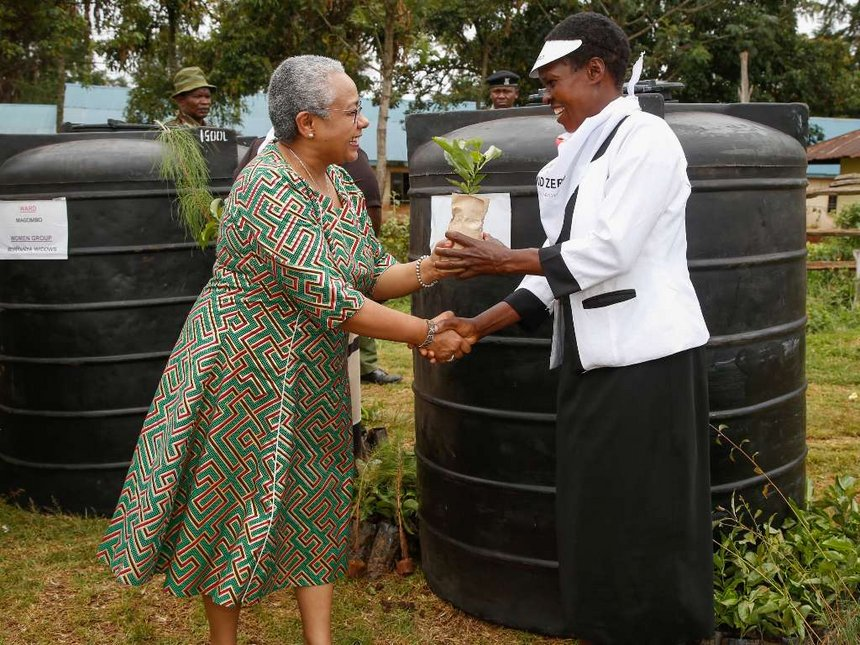 Vote for Uhuru, he has your interests at heart - Margaret