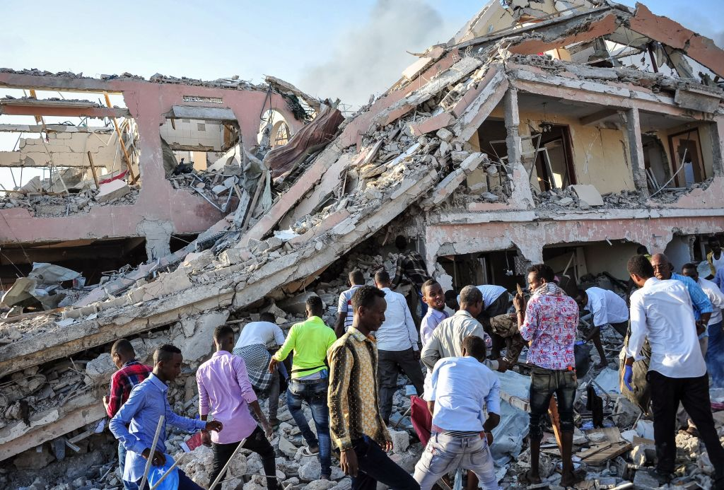 Funerals for Somali attack victims begin as death toll rises to over 300